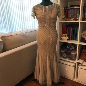 Adrianna Papell Mermaid Style Beaded Dress